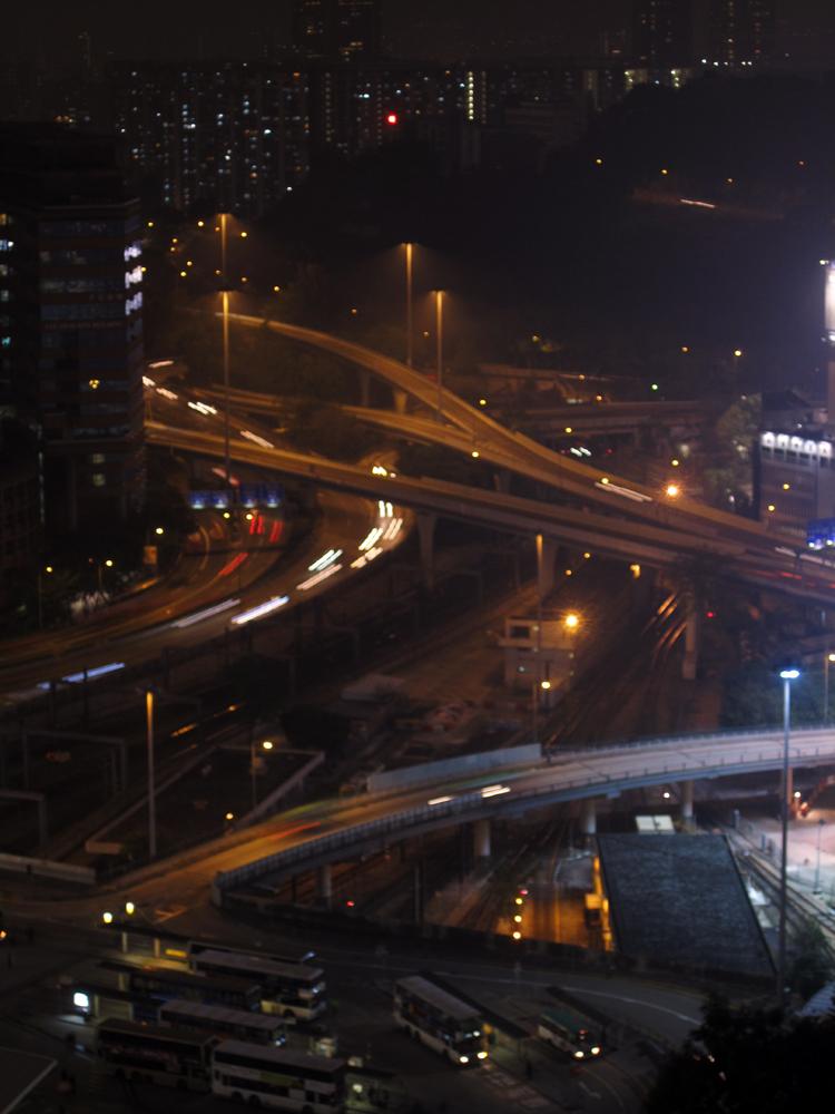 Intersection in Kowloon City Hong Kong