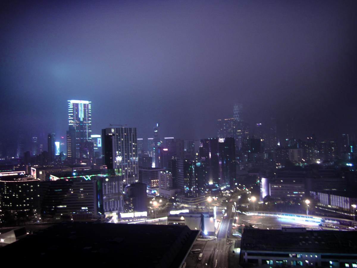 Skyline of Kowloon, Hong Kong