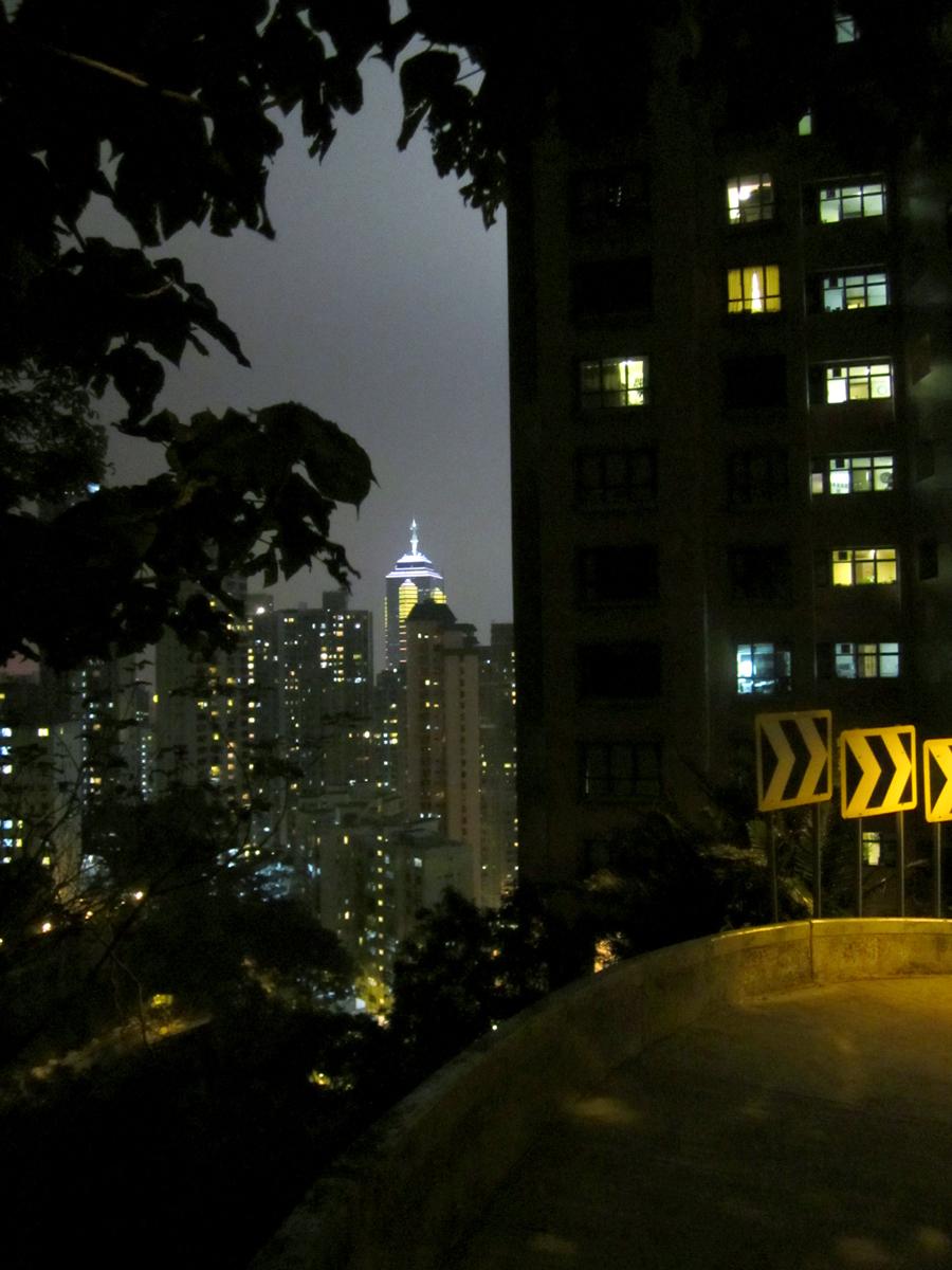 Wan Chai Cityskyline in Hong Kong