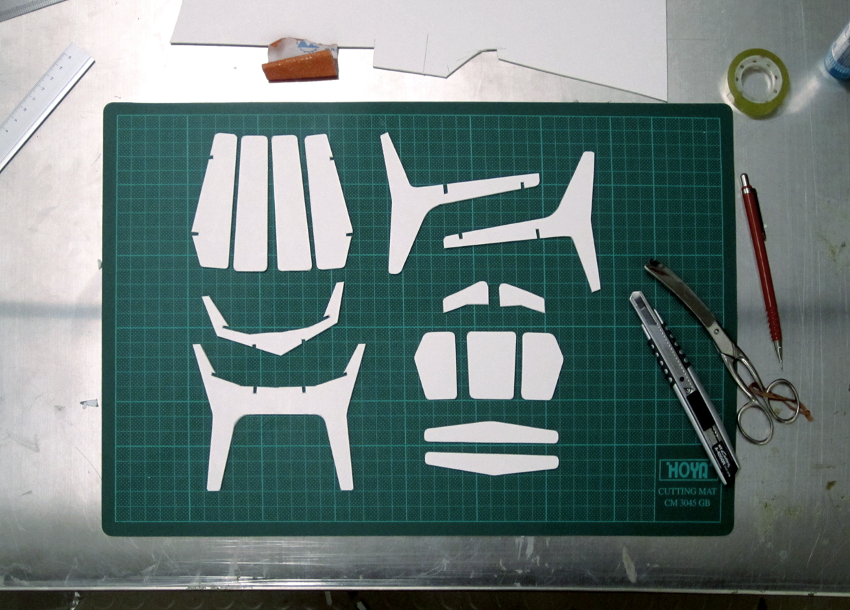 Cardboard Model Of Elephant Lounge Chair Pictures